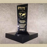 plaque-of-appreciation-for-ranking-1st-in-corporate-sales-in-tabriz-2014